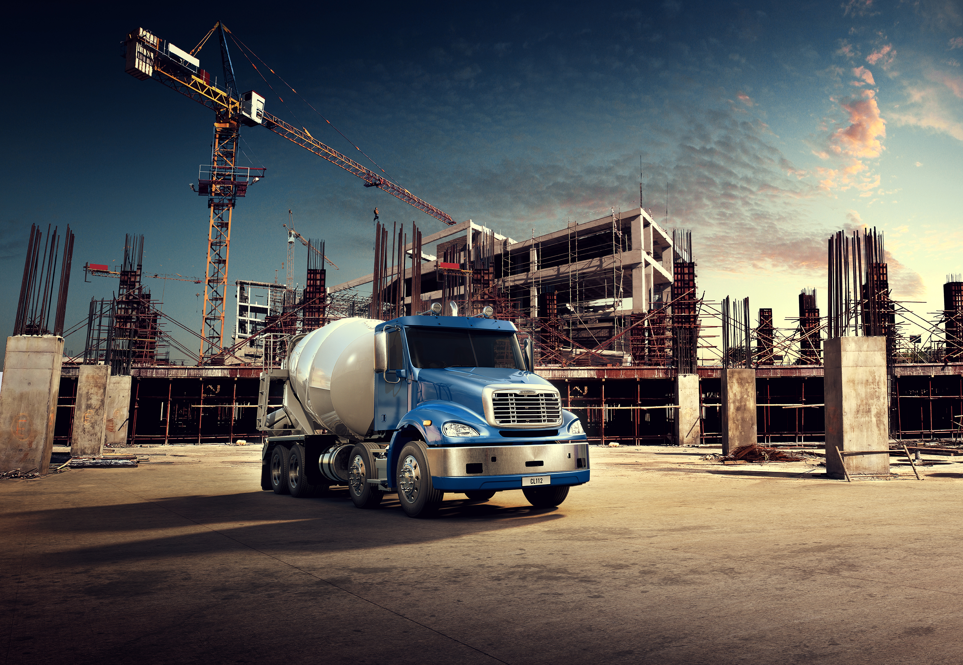 Freightliner Columbia CL112 – Tough, Reliable and Ready to Work